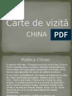 Carte de Vizita China