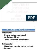 Ukr Intervensi Psikososial, Psikoterapi, Edukasi
