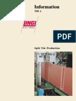Split Tile Production_Project at Laria_S.p.A