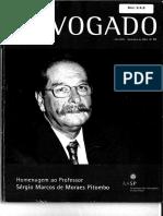 REVISTA DO ADVOGADO - Sérgio Marcos de Moraes Pitombo