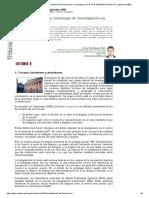 Revista de Investigación en Gestión de la Innovación y Tecnología. LA I+D QUE TENEMOS