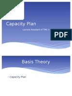 Capacity Plan