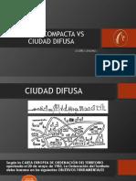 Ciudad Difusa vs Ciudad Compacta