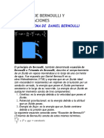 Teorema de Bernoulli y Sus Aplicaciones