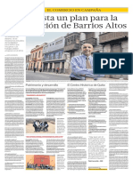 El BID alista un plan para la recuperación de Barrios Altos