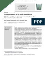articulo de polipo endometrial