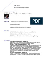 rob leaverton resume 2016 cert