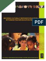 becoming culturally responsive educators