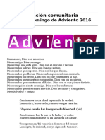 Oracion Cuarto Domingo Adviento 2016