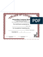 Free Certificate of Completion Template.docx