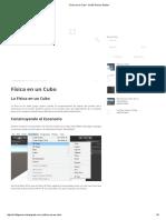 Física en Un Cubo - Iris3D Games Studios