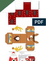Christmas Box Template