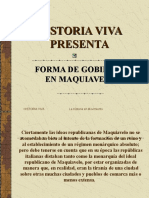 Forma de Gobierno en Maquiavelo (2)