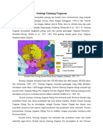 Geologi Gunung Ungaran