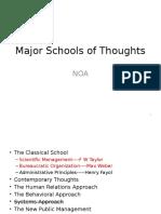 Major Schools 2ndlectr