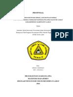 Pengaruh MK, DK Dan LK Terhadap Kinerja Pegawai KSM
