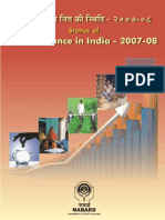Micro Finance in India - 2007-08