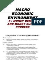 MEE -5 - Money Demand & Supply(2016)