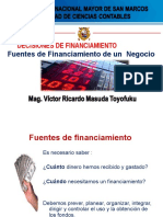5 - Fuentes de Financiamiento