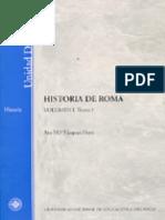 Vazquez Hoys - Historia de Roma -Tomo 1