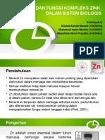 Makalah Zn Bioanorganik Kel 9 Fix