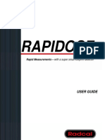 Rapidose User Manual