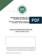 Formato 1 MATRIZ DE PROYECTOS SALUD COMUNITARIA.doc