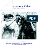 Participatory Video - Voice of the Voiceless