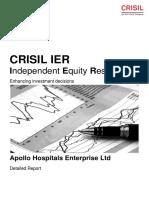 CRISIL Research_ier Report Apollo Hospitals Enterprise Ltd 2016 (3)