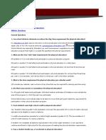 PE Learning Standards