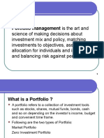 Portfolio Management WP -Introduction