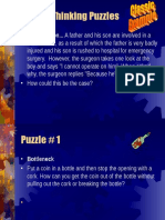 GOAL Lateral Thinking Puzzles24