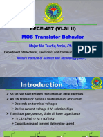 EECE 457 Transistor Behavior