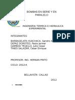 INFORME N°2 termica 2016