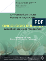 UP PGH Department of Surgery 52nd Post Graduate Course