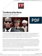 The Worst of the Worst - Foreign Policy Jun 2010
