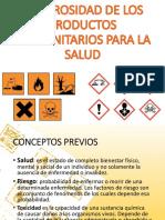 Unidad 4. Peligrosidad de Los Productos Fitosanitarios Para La Salud