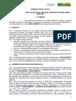 Chamada Publica PIBIC-EM 2016-2018 Para Publica¿¿o 27-4-2016