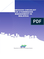 DID Malaysia Final_stormwater Submission Checklist