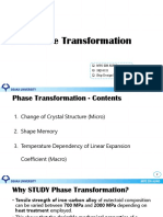 Phase Transformation (MYO ZIN AUNG)