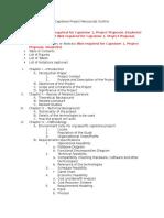 Capstone Project Manuscript Outline