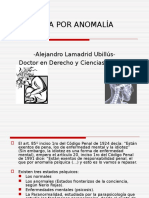 Eximencia en el código penal Peruano