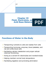 Chapter 39 - Fluid, Electrolyte, And Acid-Base Balance