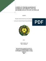 123dok Perbandingan Teknik Radiografi Konvensional Dan Digital Dalam Mendeteksi Kehilangan Tulang Alveolar