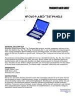 NiCr Test Panels Product Data Sheet English