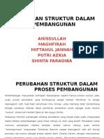 Perubahan Struktur Dalam Proses Pembangunan