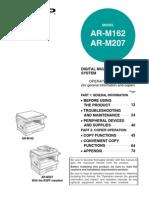 Sharp AR - M162 AR-207
