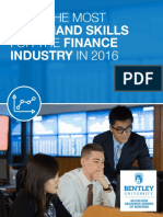 In Demand Finance Skills