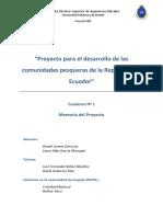Proyecto Para El Desarrollo de Las Comunidades Pesqueras en Ecuador