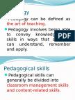 Pedagogical Skills Development Mekha